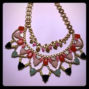 Stella & Dot Fanella Statement Necklace